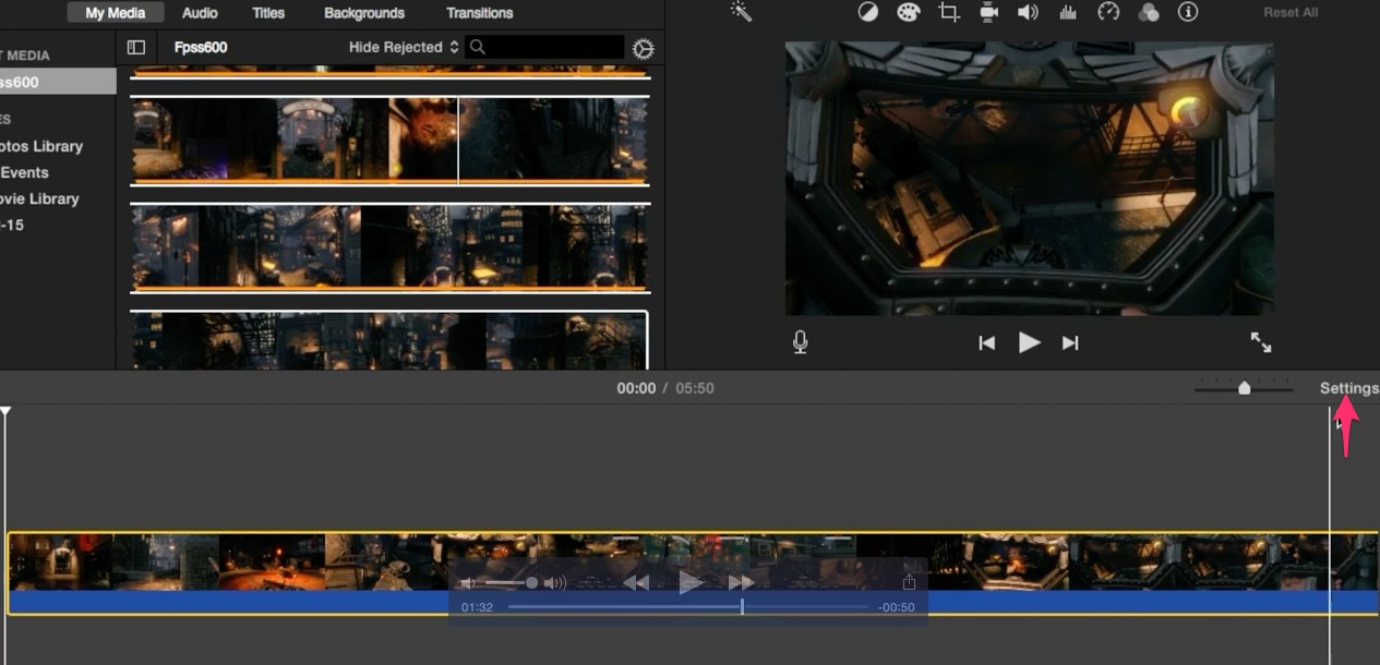 06-click-on-settings-button-above-the-imovie-project-timeline