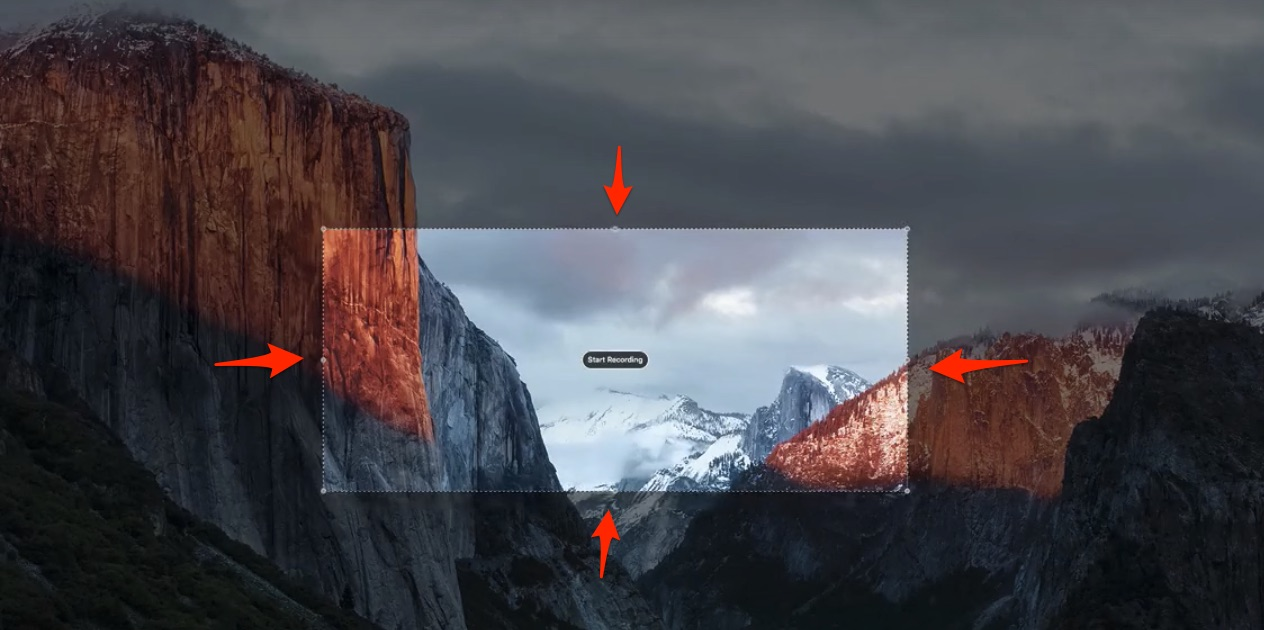 Screen capture size for quicktime screen recording on mac for course creation pluralsight